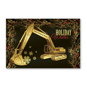 Pearl Paper Flat Cards - Gilded Excavator