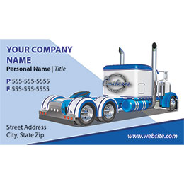 Truck Company Business Cards