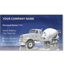 Full-Color Construction Business Cards - Crane 2