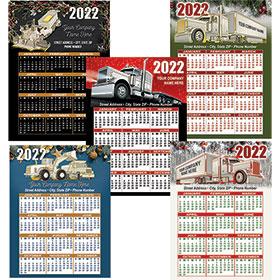 "Promotional Magnetic Calendar  4"" x 5.5"""
