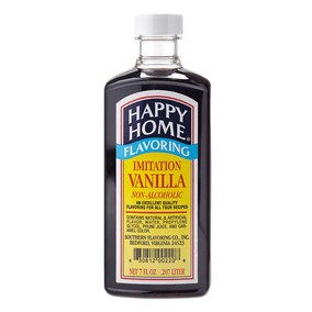 Happy Home Imitation Vanilla Flavor  - 7 fl oz Bottle