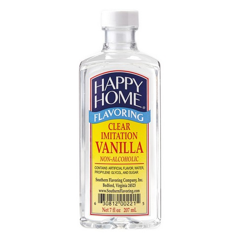 Happy Home Imitation Clear Vanilla Flavor