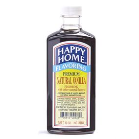 Happy Home Premium Natural Vanilla Flavor - 7 fl oz Bottle