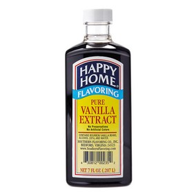 Happy Home Pure Vanilla Extract - 7 fl oz Bottle