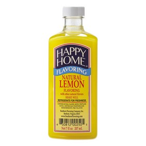 Happy Home Natural Lemon Flavor Blend