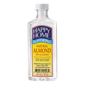 Happy Home Natural Almond Flavor - 7 fl oz Bottle