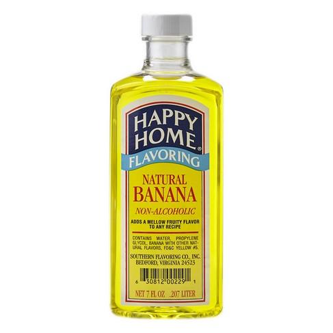 Happy Home Natural Banana Flavor