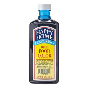 Happy Home Blue Food Color