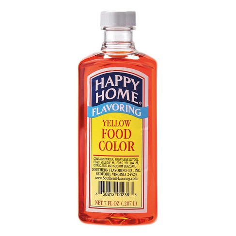 Happy Home Yellow Food Color