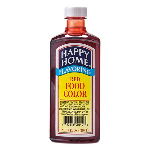 Happy Home Red Food Color