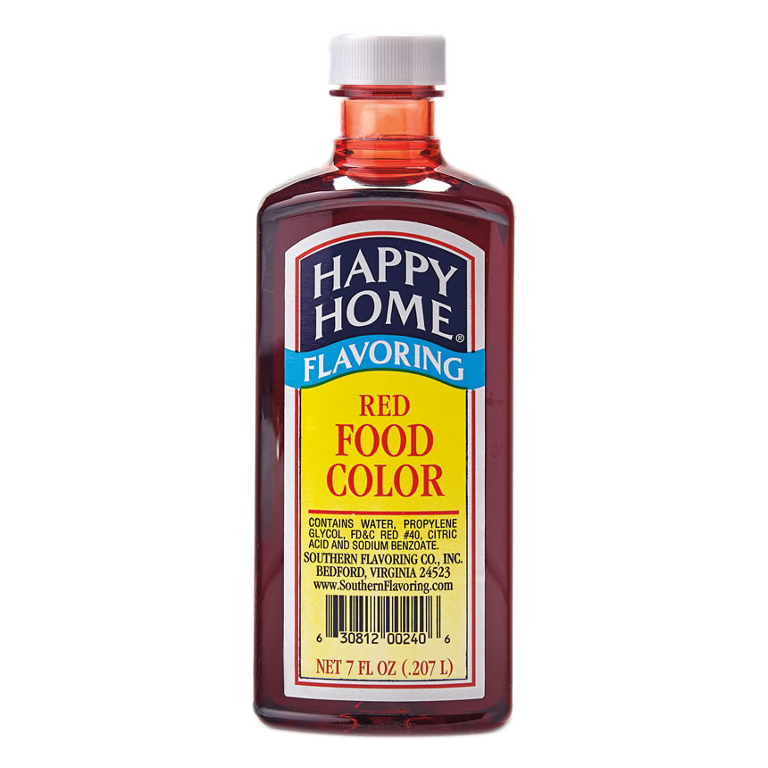 Happy Home Red Food Color, Happy Home Food Colors: Southern ...