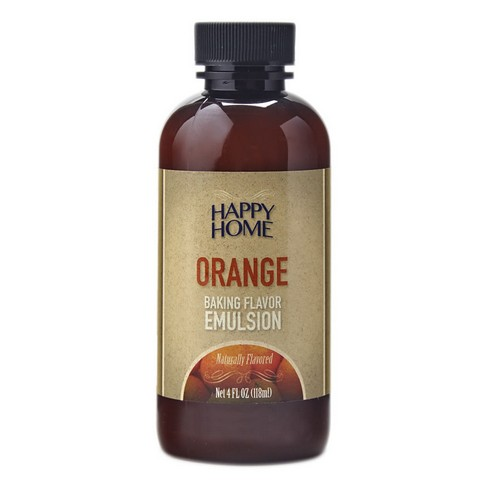 Natural Orange Baking Flavor Emulsion