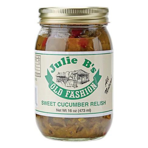 Julie B's Sweet Cucumber Relish