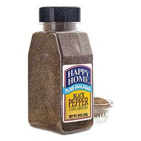 Happy Home Black Malabar Pepper - 8.4 oz jar