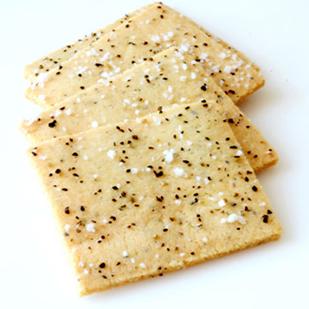 Sea Salt and Pepper Crackers