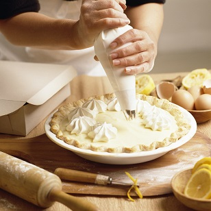 Lemony Cream Pie