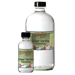 Clear Vanilla Flavoring