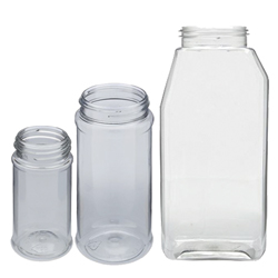 Empty Jars with Shaker Lids - 3.5 Oz. Clear Jar (SJ)