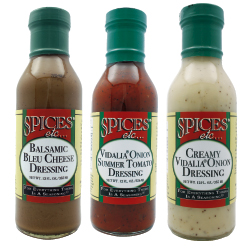 Spices Etc. Salad Dressings - Balsamic Bleu Cheese w/ Walnuts
