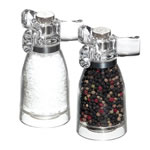 Acrylic Spinner Salt & Pepper Grinder
