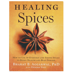 Healing Spices Guide & Cookbook