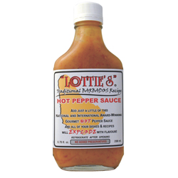 Lottie's Hot Pepper Hot Sauce - One (6.75oz)