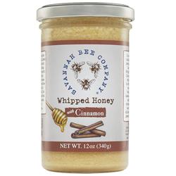 Savannah Bee Whipped Honey with Cinnamon