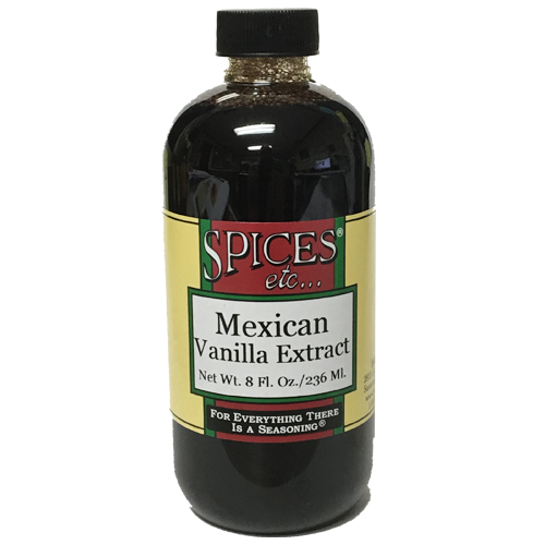 Pure Mexican Vanilla Extract - 8 Oz.