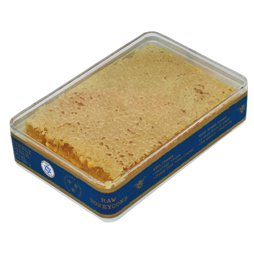Savannah Bee Raw Acacia Honeycomb - 5.6 Oz. Tin