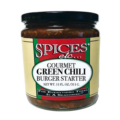 Spices Etc. Green Chili Burger Starter