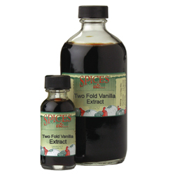 Vanilla Extract, Two Fold - 2 oz.