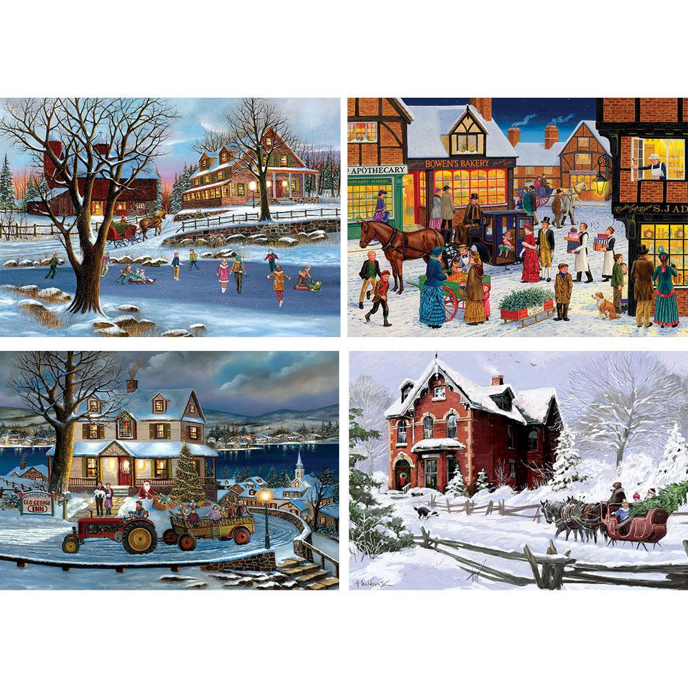 Wintery Wonderland 1000 Piece Jigsaw Puzzle