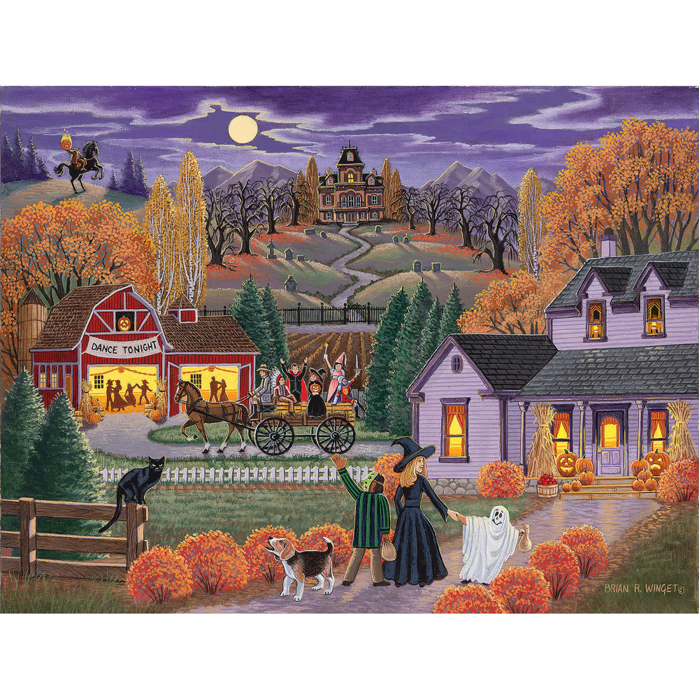 Dance Tonight 500 Piece Jigsaw Puzzle
