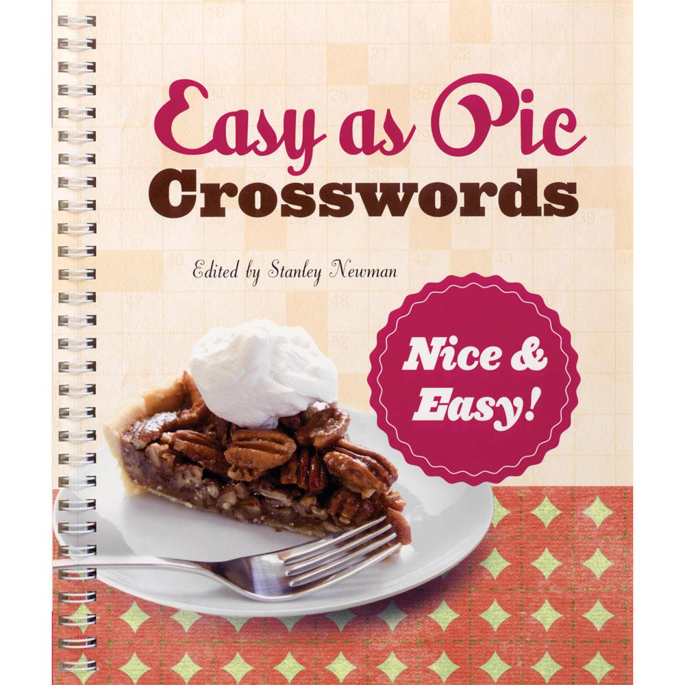 Easy As Pie Crossword Book Nice Easy Buy At Spilsbury