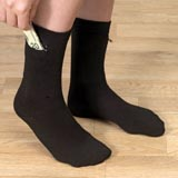 Set of 2 Pairs: Stash It Socks