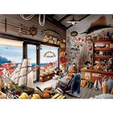 Pig Farm 800 Piece Shaped Jigsaw Puzzle