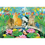 Fish Pond Pals 200 Large Piece Jigsaw Puzzle
