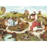 Picnic in the Meadow 500 Piece Jigsaw Puzzle