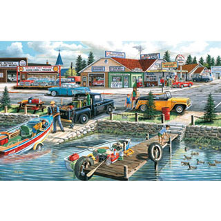 Pelican Lake 300 Large Piece Jigsaw Puzzle
