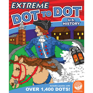 Extreme Dot-to-Dots Book - US History
