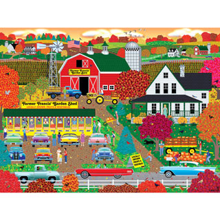 Autumn Harvest 500 Piece Jigsaw Puzzle