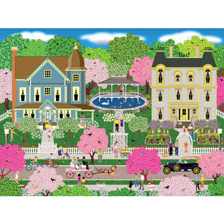 Victorian Town 500 Piece Jigsaw Puzzle