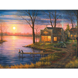 Bait Shop 300 Large Piece Jigsaw Puzzle