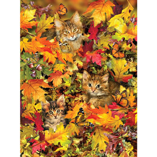 Kitties at Play 300 Large Piece Jigsaw Puzzle