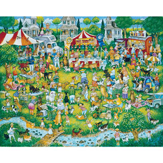 Where's Woofo 300 Large Piece Jigsaw Puzzle