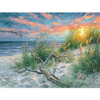 Beach Life 300 Large Piece Jigsaw Puzzle