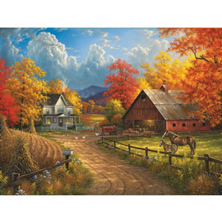 Country Blessings 300 Large Piece Jigsaw Puzzle