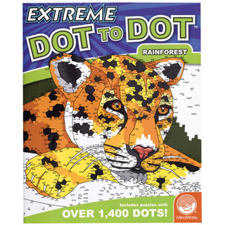 Rainforest- Extreme Dot to Dot Book