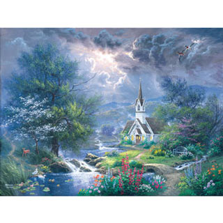 Sweet Hour of Prayer 500 Piece Jigsaw Puzzle