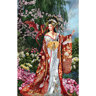 Queen of Silk 1000 Piece Jigsaw Puzzle